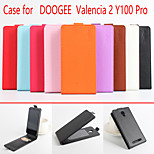 Flip Leather Magnetic Protective Case For DooGee Valencia 2 Y100 Pro(Assorted Colors)
