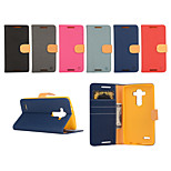 Yi Cai Gyrosigma PU Leather Card Holder Leather Belt Around Open for LGG3/LGG4(Assorted Colors)