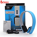 BOAS Studio Headphones Wireless Headset Sport Earphones Stereo Earpods with Microphone Support FM and TF Mp3 Player
