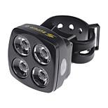 Luces para bicicleta , Luz Delantera / luces de seguridad - 5 Modo 60 Lumens Recargable / Resistente a Golpes / antideslizante Otros x
