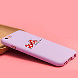 iFashion® Candy Color Purple Bowknot Red Wave Point Pattern Soft Case for iPhone 6/6s