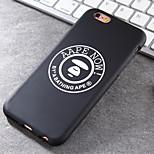 o novo só agora padrão material TPU ok perfeita forma legal caso de telefone tendência para iphone 6 / 6s