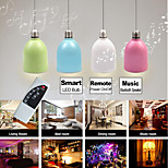 Besteye®BLFF4 3W E27 100-240V Smart LED Bulb Multi-color LED Light with Bluetooth Speaker and Remote Control