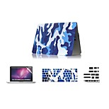 4 in 1 Camouflage Design Case Cover + Keyboard Cover+Screen Protector Cover +Dust Plug for Macbook  Air 11