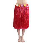 60cm Adults' Fire-Proof Double Layers Hawaiian Carnival Hula Dress Only Waist Elastic