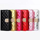 Fashionable Ling Plaid Package Design PU Case for iPhone6/6S (Assorted Color)