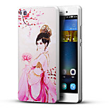 Queen 3D Printing Carving Hard Back Case Ultrathin Metal Bumper for Huawei P8 Case