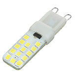 Luces de Doble Pin Regulable Marsing Luces Empotradas G9 5 W 28 SMD 2835 300-400 LM Blanco Fresco AC 100-240 V 1 pieza