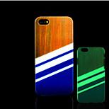 aztèque motif de mandala lueur dans la couverture arrière en plastique dur noir pour iPhone 5 pour iphone 5s cas