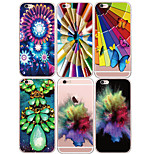 MAYCARI®World of Colors Soft Transparent TPU Back Case for iPhone5/iPhone 5S(Assorted Colors)