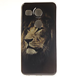 Lion Pattern TPU Material Phone Case for LG Nexus 5X