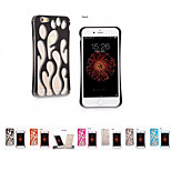 Fashion Aluminum Metal flame hollow out Hard Case for iphone6/6s 4.7
