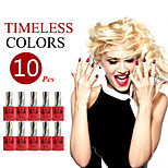 (Choose 10) ANA Nail UV 12ml 200 Fashion Color Long-lasting LED Gel Polish Top Fashion