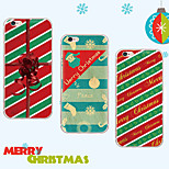 MAYCARI®Atmosphere of Christmas Day Soft Transparent TPU Back Case for iPhone 6/iphone 6S(Assorted Colors)