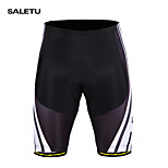 SALETU Summer Men Cycling Shorts Gel Padded Spandex Riding Shorts MTB Mountain Bike Bicycle Shorts Ciclismo