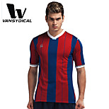 Vansydical Men's Insulated Fitness Tops Yellow / White / Red / Black / Blue / Red Wine / Royal Blue