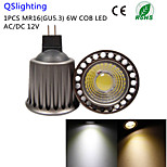 QSlighting 1PCS RM16 6W 500LM 3000/6000K 1xCOB LED SpotLight-Higher cooling efficiency&Restore ancient ways-AC/DC12V