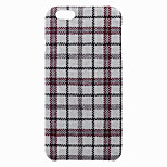 Lattice Pattern Protective PP Back Case for iPhone 6 / 6S (Assorted Colors)