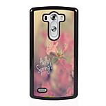 Hello Spring Design Metal Hard Case for LG L90/ G3/ G4