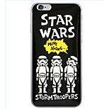 Star Wars Pattern TPU Soft Cover Case for iPhone 6/6S