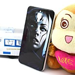 2-in-1 Robot Girl Pattern TPU Back Cover with PC Bumper Shockproof Soft Case for Xiao Mi 4 MI4