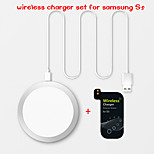 W6 Qi Wireless Charger and Receiver Set for Samsung Galaxy S5