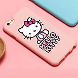 ifashion® candy Farbe rosa bowknot schénes gril Katze Muster Hülle für das iPhone 6 / 6S