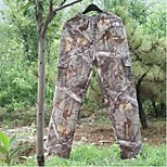 Men Outdoor Waterproof Camouflage Mute SilenceTrousers Hunting Fishing Camo Pants