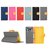 Yi Cai Card Holder Leather Belt Around Open for HTC A9(Assorted Colors)