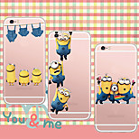 MAYCARI®Happy Together Soft Transparent TPU Back Case for iPhone5/iPhone 5S(Assorted Colors)