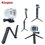 Waterproof Case and 3-way Extendable Hand Grip with Adjustable Arm and Detachable Tripod for Polaroid Cube