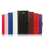 Crazy Horse Grain and Window Luxury PU Leather Wallet Case with Stand for iPhone 5/5s(Assorted Colors)
