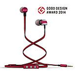 ggmm ruido cuco prima carcasa metálica que cancela el auricular en la oreja con micrófono y control de volumen
