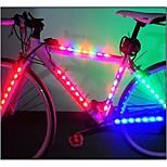 Luces para bicicleta , luces de seguridad / Luces para bicicleta - 3 Modo More Lumens Fácil de llevar AAA x 2*AAA Batería