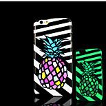 Ananasmuster im Dunkeln leuchten Hartplastikhülle für iPhone 6 für iphone 6s Fall