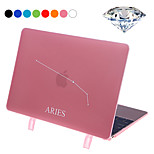 Aries Style Protective PC Hard Case Cover with Swarovski Crystal Diamond/Stand for Macbook Retina 12
