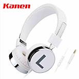 kanen / ip-878 teléfono celular auricular de auriculares de un solo orificio cuaderno un auricular con una marea de micrófono