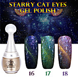 1PCS KOUYI Starry Cat Eyes Color Gel 12ml 24Colors Long Lasting Nail Polish 13-15 And That is Better