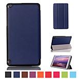 8 pollici cuoio dell'unità di elaborazione tripla modello pieghevole di alta qualità per tablet scudo nvidia Tablet K1 / scudo 8 (colori