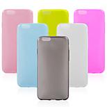grande d TPU pudim de volta para o iPhone 6 / 6s (cores sortidas)