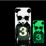 Panda Pattern Glow in the Dark Hard Plastic Back Cover for iPhone 5 for iPhone 5s Case