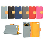 Yi Cai Gyrosigma PU leather Card Holder Leather Belt Around Open for Sony Z5Mini(Assorted Colors)