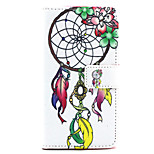 Flower dream catcher Pattern PU Leather Stand Card Slot Case for LG Bello D337
