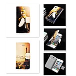 The City Landscape Pattern PU Leather Full Body Case for iPhone 5/5S