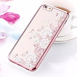 Mobile Phone Sets Of Electroplating TPU Lace Diamond Soft For IPhone 6/6s (Assorted Colors)
