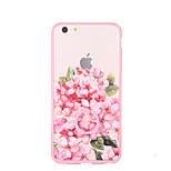 Pink Flowers Suitable for Girls Ring Buckle Cases for iPhone6/iPhone 6s
