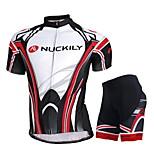 NUCKILY Mountain Bike Team Custom Summer Suit Short Sleeved Shirt Shorts Men Riding Tour Equipment