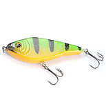 Mizugiwa Pike Musky Fishing Jerk Bait Lure Jerkbait Swimbait 130mm 50g Color Green