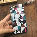 Fashion Quilted Pattern Case Luminous Glow in the Dark Protective Phone Back Cover Case for iPhone 6 Plus / 6S Plus