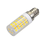 marsing® E14 7W 500lm 3500K 64-SMD 2835 ledede varmt hvidt lys pære lampe (AC 220-240V)